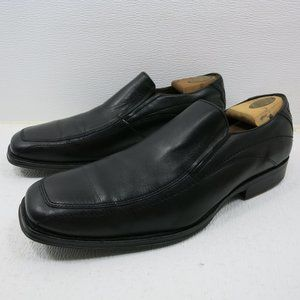 Johnston & Murphy Leather Moc Dress Loafers Shoes